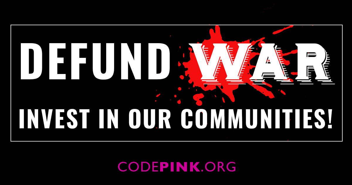 Tell your representative to join the Defense Spending Reduction Caucus